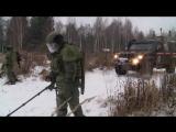 Тактико-специальные занятия с подразделениями инженерных войск ВС РФ