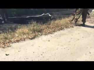 18+ Разгром колонны карательного батальона Айдар_ч.1_ 05.09.2014