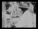 Claude Monet - Filmed Painting Outdoors (1915)