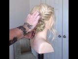 Теперь ты знаешь как сделать эту трёхминутную причёску!