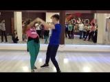 II KZ&SFest2017 Ищенко Антон и Шолина Даша. Zouk demo1