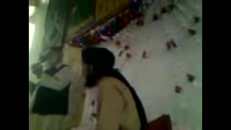 Saeed Bhai Ameer ANJUMAN-E- SARFROSHAN-E-ISLAM, at Saeeds house Ranyal on Mehfil-e-Milad Sharif.