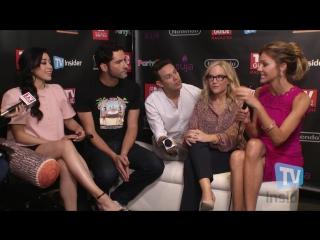 The Cast of Lucifer Talk Season 3 vk.com/lucifer's bitches
