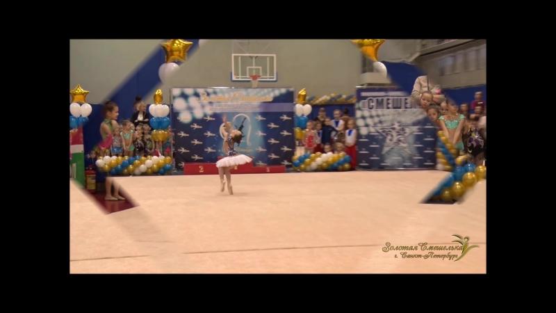 Я- Маленькая Балерина Танцевально - Гимнастическая Школа СМЕШЕЛЬ 17.12.2017г.