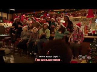 Рождественская песня Галлагеров | РУССКИЕ СУБТИТРЫ | Gallagher's Christmas carol