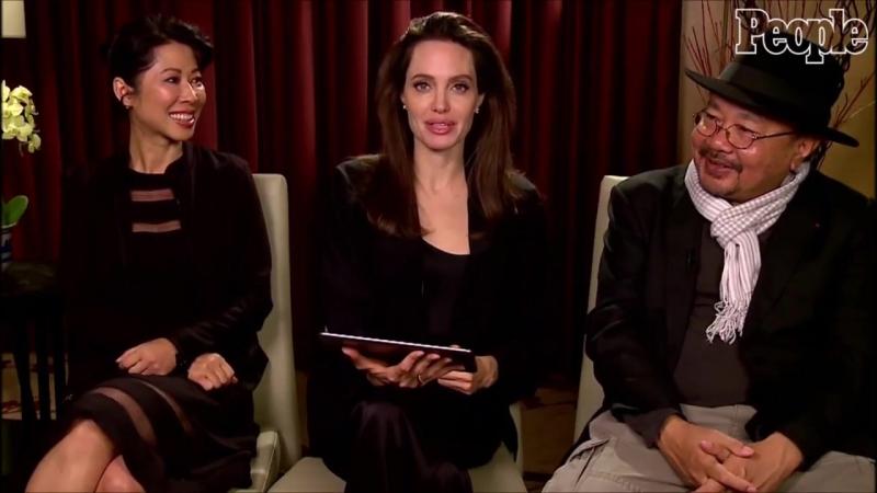 Анджелина в интервью для журнала «People»