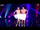 Французы комики Танец с полотенцем. French comedians. Dance with towel