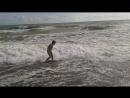 Вечерние крымские волны ..
