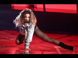 Рита Ора \ Rita Ora X-Factor UK 2017 телешоу «The X Factor 05 11 2017 Лондон, Великобритания.LIVE SHOW