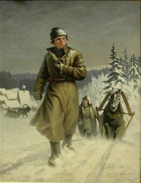 Михайло Ломоносов – рвущийся к знаниям крестьянин