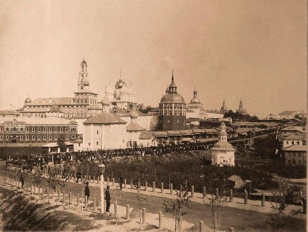 Посещение императором Николаем II Троице-Сергиевой Лавры. 22