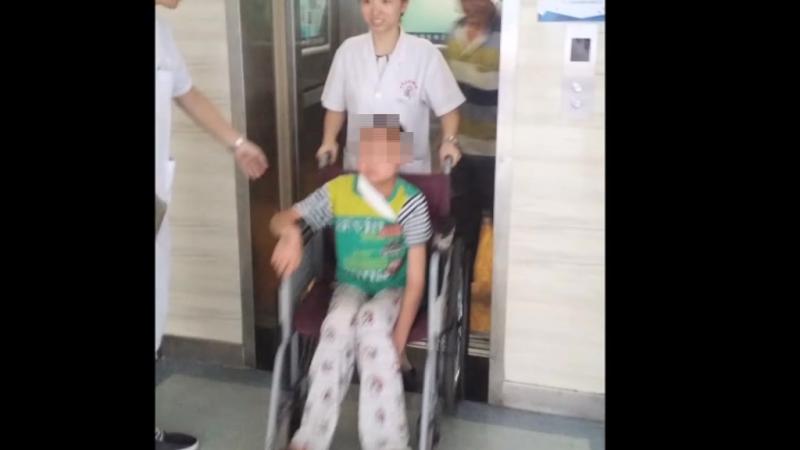 13-летний мальчик из диализа