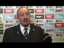 Here's what Rafa Benítez had to say after tonight's 3 2 defeat to @LCFC