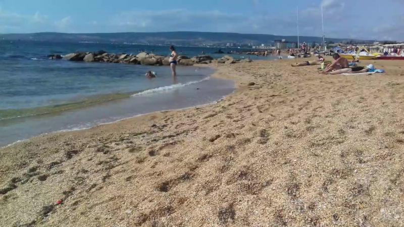 Крым. Феодосия. золотой(ракушечный) пляж
