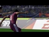 FIFA18 Не очень честный гол на уровне сложности Легенда.