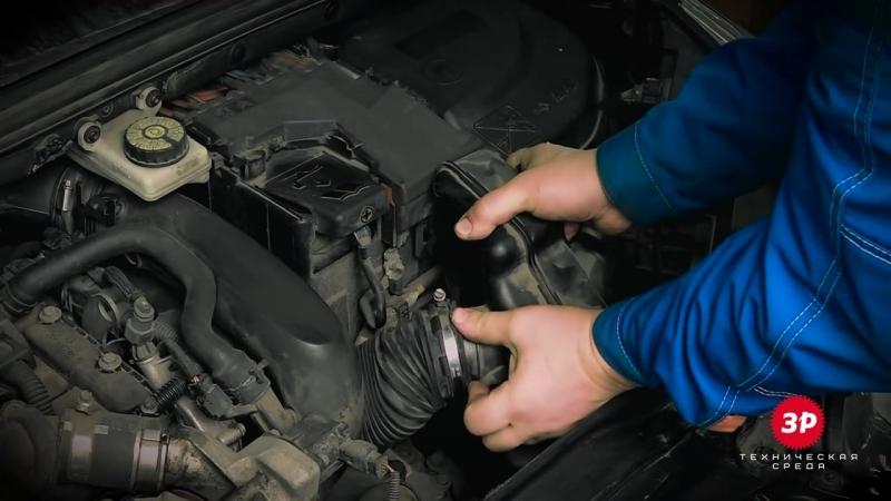 Замена масла в двигателе на ситроен с4 своими руками 78