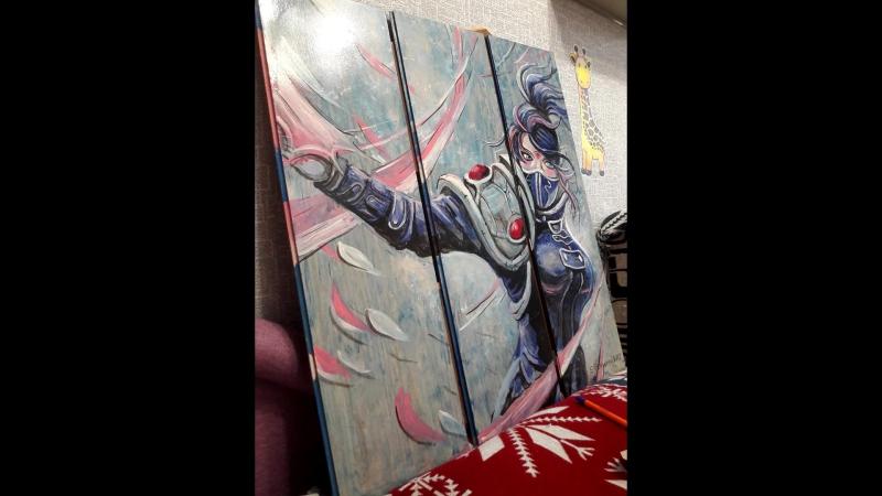 Strutsenko art модульная картина