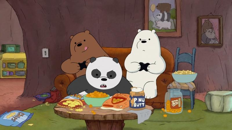 Чистолюбивый Панда (We Bare Bears / Мы обычные медведи 3х12)