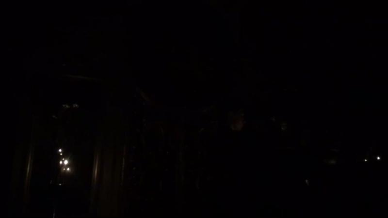 Проповедь из темноты.