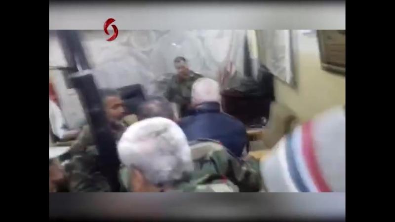 Les troupes de l'armée syrienne se regroupent après avoir divisé la Ghouta Orientale en 3 poches