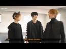 [W PROJECT] Daeyeol, Jaeseok, Donghyun Performance Video Making (русс.саб)