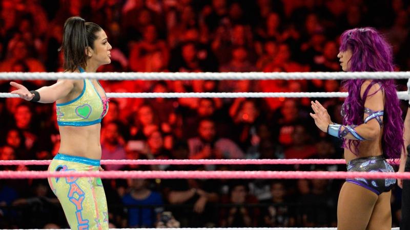 Sasha Banks vs Emma vs Alicia Fox vs Dana Brooke vs Bayley