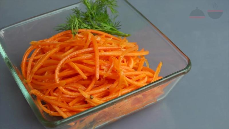 Морковь по-корейски Самый простой рецепт Вкуснее чем в магазине