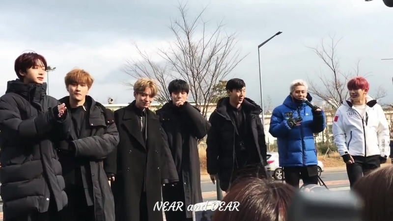 [VK][171125] MONSTA X @ Music Core mini fanmeeting