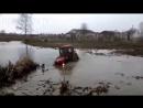 OFF-ROAD на тракторах. Трактора К-700, МТЗ-82, John Deere, Т-40АМ на бездорожье!