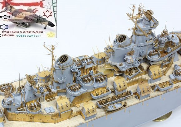 1//350 Master Models Brass Barrels Scharnhorst Brass Barrels For Use With Blast B