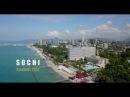 Flying above Sochi Russia Полеты над Сочи Россия