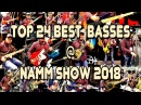 TOP 24 Best Custom Shop Basses at NAMM Show 2018