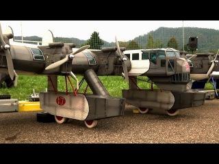 RC Kalinin K-7 Russian Калинин К-7 RC Model Airplane over 5 meter Wingspan| History Porn