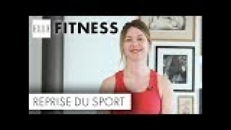 15 minutes de cardio training pour se remettre au sport┃ELLE Fitness