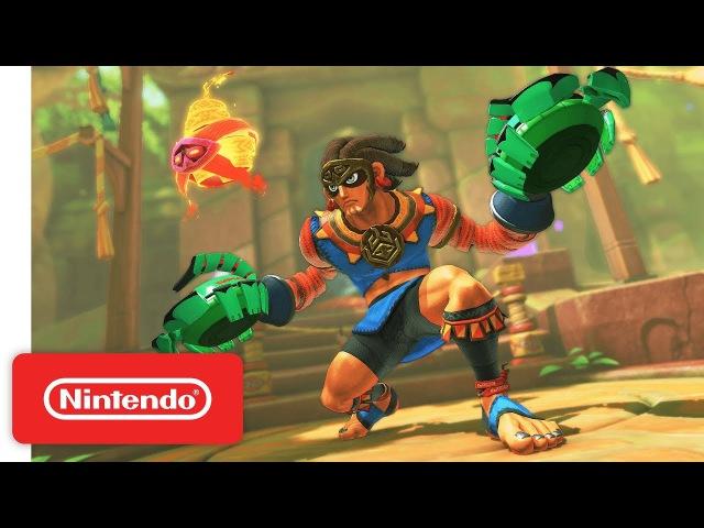 ARMS 4 0 Update New Fighter Misango Nintendo Switch смотреть онлайн без регистрации