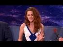 "Kristen Stewart Hates Filming ""Twilight"" Sex Scenes - CONAN on TBS"