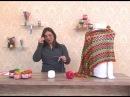 Xale em crochê com Esterlina com Cristina Amaduro