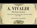Violin Concerto in E major The Four Seasons (Spring) - 1 mov Allegro - Piano Accompaniment