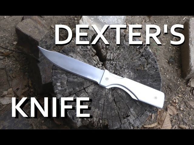 Making Dexter's Main Hero Knife