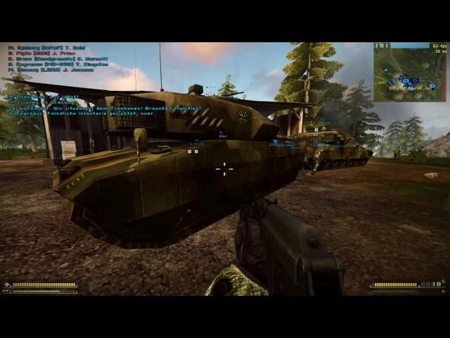 Battlefield 2: Zone of Continuous Fire - Gameplay - [HD]