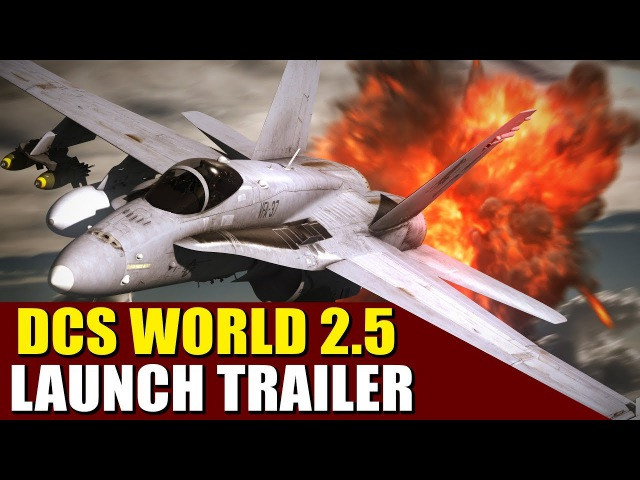 World's most spectacular PLAY FOR FREE combat game! DCS World 2.5!