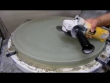 Grinding a 25-Inch F3 Telescope Mirror Thinning and Flattening the Back