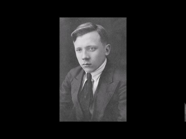 Gennady Vorobyov (1918-1939): Symphony in C minor (1937-1939), Moscow recording