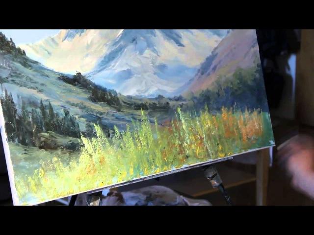 NUEVO Master Class Igor Sajarov Mountain Landscape
