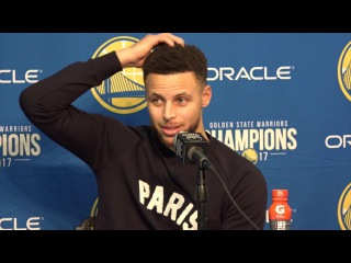 Stephen Curry Postgame Interview / GS Warriors vs Thunder / Feb 6