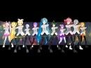 【MMD】Аниме танец   MikuMikuDance