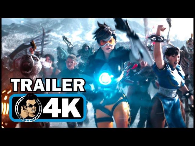 READY PLAYER ONE Official Trailer 2 (4K ULTRA HD) Tye Sheridan Sci-Fi Action Movie 2018