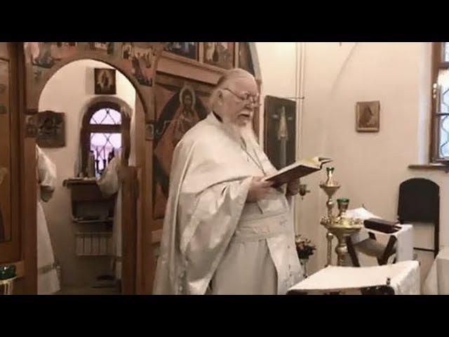 Протоиерей Димитрий Смирнов. Проповедь о судье неправедном