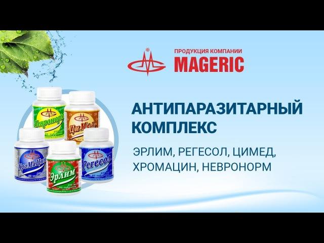 Светлана Алейникова. Антипаразитарный комплекс Пятерочка от компании Маджерик.