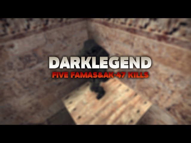 DarkLegend vs FastCup.net | ACE with FAMAS AK-47